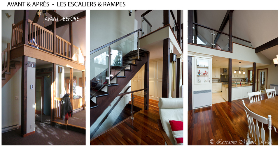 rampe lumineuse cuisine escaliers rampes de verres plancher exotique cuisine pure with rampe. Black Bedroom Furniture Sets. Home Design Ideas