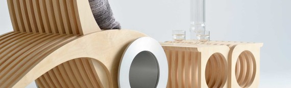 Une chaise inusitée et design !