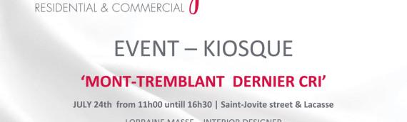 Kiosque – Event | Mont-Tremblant