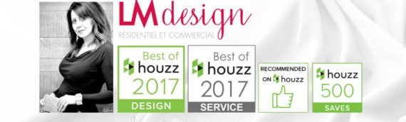 Nominée Best of Houzz 2017 Design & Service | LM Design